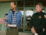 With Mesa County Sheriff Stan Hilkey, right, by his side, David Walker, brother of missing...