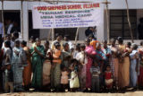 (1/17/05,Kaalapet, India)   People stood in line for hours before the group got to the medical...