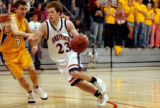 (LITTLETON, Colo., Jan. 18, 2005) (Lt. to Rt.) Littleton Hugh varsity basketball team member...