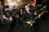NYT30 - (NYT30) DUBLIN, Ireland -- January 31, 2005  UNIVERSAL-MUSIC-VIDEO -- The band U2...