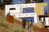 (Boulder, COLO. JANUARY 20, 2005)   HGTV DREAM HOUSE PROJECT.   James Casanova, left, the...
