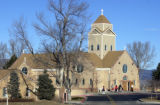 (BOULDER, COLO. JANUARY 23, 2005)  Sacred Heart of Mary Catholic Church buried of the ashes of ...