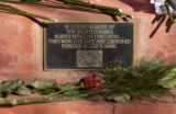 (BOULDER, COLO. JANUARY 23, 2005) A plaque at the Memorial Wall for the Unborn, in the Sacred...