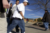 (DENVER, Colo, February 10, 2005) -Montbello High School students leave school after finding out...