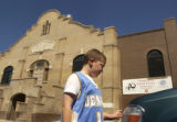 DENVER,COLO-- 7/29/04 -  At the Robert K Steele boys and Girls Club the children will be looking...