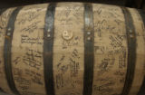 (DENVER, Colo., Febuary 3, 2005) The first barrel waits with paitence at Stranahan's Colorado...