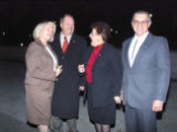 Rep. Marilyn Musgrave and her husband Steve Musgrave with Ralph and Linda Goble near the White...