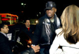 Denver, Colo., photo taken February 18, 2005- Former NBA All-Star, Dennis Rodman, gets out of his...