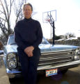 SPECIAL TO THE ROCKY MOUNTAIN NEWS- Former NBA basketball player Adrian Smith with his 1966 Ford...