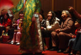 (Denver, CO., February 9, 2005) Denver Buddhist Cultural Society members watch Tayuan Lee, 37, of...