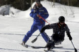 Vail, Colo.shot on 2/25/05--At Vail Resort 'Vail Veteran Ski Weekend' offered some 19 disabled...