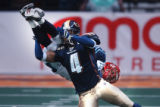 Denver, Colo., photo taken February 27, 2005- Colorado Crush defensive specialist,Rashad Floyd,...