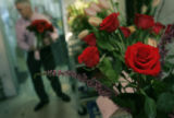(02/14/2005, Denver, CO)   Area florists were ready for Valentine's Day this year.  At Bouquets in...