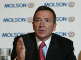 MONTREAL, June 22, 2004- Dan O'Neill, President and CEO of Molson Inc. speaks to the press...