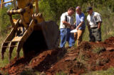 (Boulder, Colo., August 17, 2004) HGTV dream house project.   Groundbreaking.  Vince Kasperbauer...