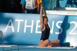 (Athens, Greece  on Saturday, Aug. 14, 2004) - Swimming at the Olympic Aquatic Centre in Athens,...