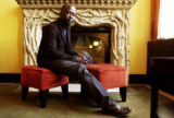 (DENVER, Colo., Aug 22, 2005) David Adjaye, MCA's architect for its new building has his photo...