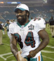 For  SPORTS 8/13/05 Photo by Joe Rimkus Jr./Miami Herald Staff...The Miami Dolphins play the...