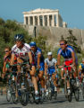 (ATHENS, GREEECE, AUGUST 11, 2004)   USA Women's road cycling rider, Kristin Armstrong, center,...