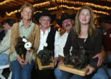 (Douglas County, Colo., August 20, 2005) Awardees:  Sue and Jerry Stewart with Charlie and Ruth...