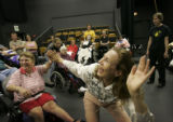 The Equilibrium Theatre Company of VSA North Fourth Art Center in Alburquerque, New Mexico,...