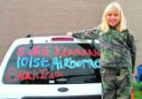 Kodee was seen around the SIU campus wearing camouflage like in this file photo. Her weekly column...