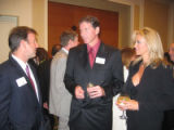 University of Denver 2005 Korbel Dinner - August 16. 2005. Denver Marriott City Center. From left,...
