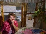 Dee Munchiando (cq) in her house near I-70 freeway at 1401 Idaho st. in Idaho Springs Thursday...