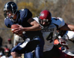Golden, CO 10/30/04 Colorado School of Mines Orediggers vs. the Mesa Mavericks. Oredigger...