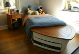 Stephanie Riggs' remodeled house in Denver, Colo., on Tuesday, October 26, 2004.  Boy's bedroom....