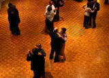 Denver, Colo., photo taken November 14, 2004-Dozens of couples gathered Sunday afternoon at the ...