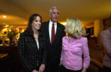 DENVER, COLO. - Nov. 2, 2004  Republican U.S. Senate candidate Pete Coors watches early election...