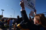 Greeley, Colo.- 10/25/04 --At Island Grove Park in Greeley, President George Bush made a campaign...