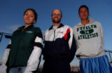 {Greenwood Village, Colorado.  11/16/2004}   2004 All-Colorado boys and girls cross country team ...