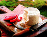 Feta, Greece's tangy, crumbly sheep or goat cheese, comes straight from northern high-mountain...