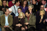 (GREELEY, CO. OCTOBER 25, 2004)Congresswoman Marilyn Musgrave, center, talks with former U.S....