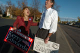 (10/26/04, Denver, CO)  The Kerry-Edwards campaign brought Rep. Loretta Sanchez (CA-47) to...