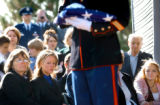 [Denver, CO - Shot on 10/27/2004]  Graveside services with full military honors were held at Fort...