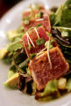 (DENVER, Co. - Shot 2/25/2005) Tuna Tataki Salad with avocado, kaiware sprouts, toasted pepitas...