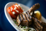 (DENVER, Co. - SHOT 2/23/2005) Yanni's a Greek Taverna on South Monaco Parkway has been serving up...
