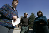 (DENVER, Colo., March 7, 2005) - (l-r)  CU professor Joanne Belknap, Prof. Sociology and Women...