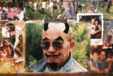 (2/21/05, Aspen, CO) A photo of Hunter S. Thompson in the famous Woody Creek Tavern in Woody...