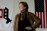 (3/8/05, Denver, CO)  Patricia Waak is the new head of the Democratic Party in Colorado.  (PHOTO...