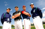 Denver, Colo., photo taken May 26, 2004 ALL-CITY FIELDS- All Colorado boys Baseball players and...