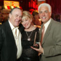 (Denver, Colo., March 3, 2005) Ernie Blake and Sharon Magness Blake with award-winner David...