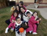 Denver, Colo.12/28/04-- The DeLoera quintuplets, born in May, 2001, now 3 1/2 years old.    ...