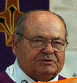(DENVER Colo., February 26, 2005)  Father Jan (cq) Mucha (cq) (Jan Mucha), at St. Joseph Polish...