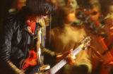 Denver, Colo., photo taken March 8, 2005-Guitarwolf Seiji (cq), the lead guitarist for the popular...