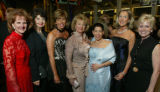 (Denver, Colo., March 5, 2005) Former event chairs, left to right:  Joan Swinehart, Sherrye...