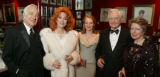 (Denver, Colo., March 5, 2005) Marvin and Judi Wolf, Cordelia Gummer, Donald Seawell, and Mrs....